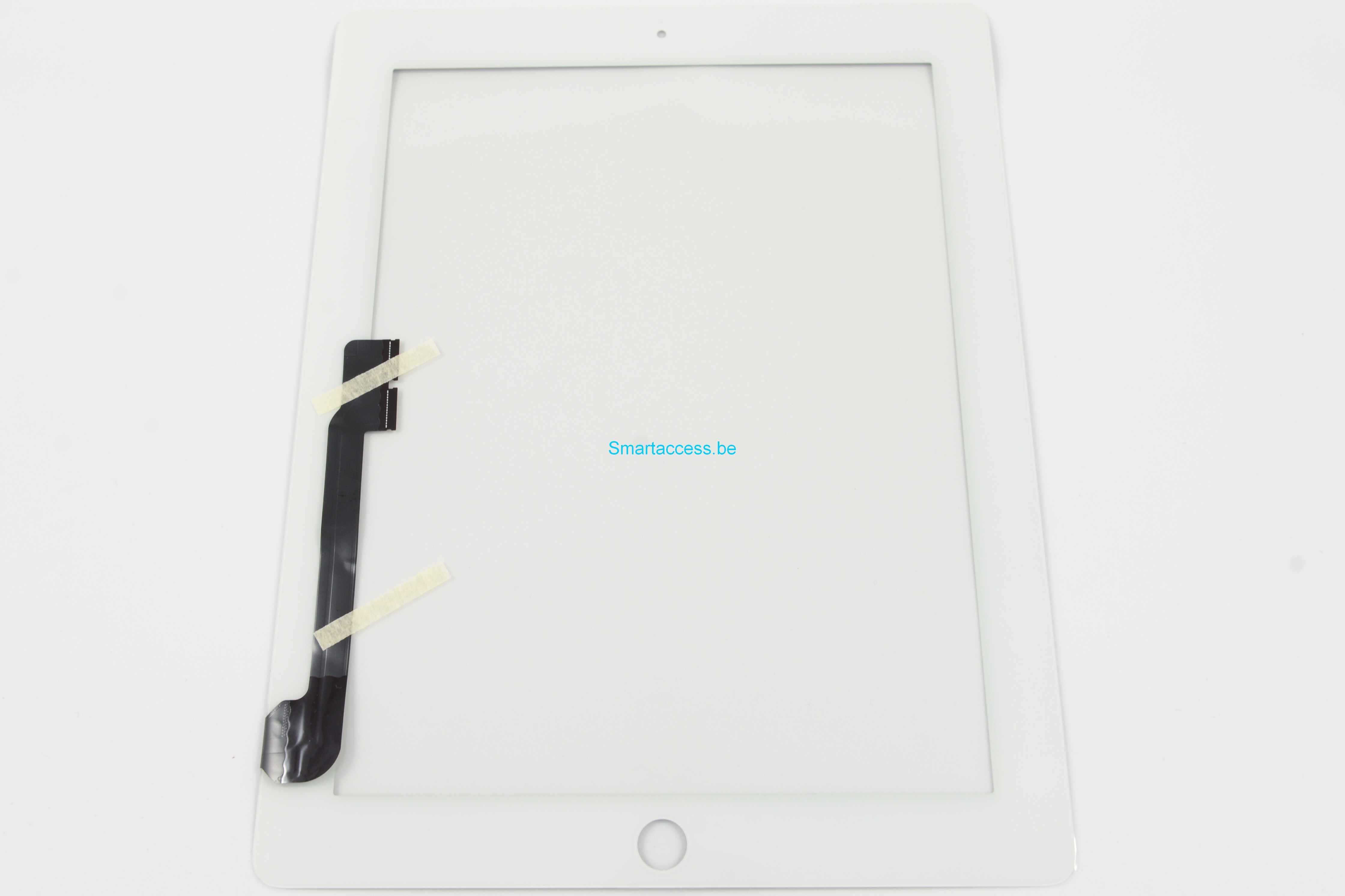 Vitre tactile iPad 4 blanc qualité exclusive